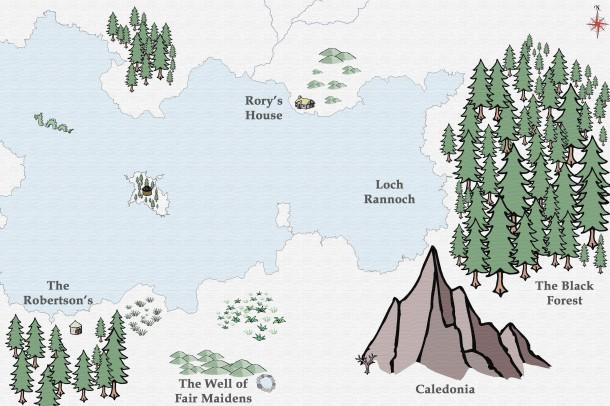 Phantom map